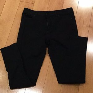 JOE'S JEANS Black Stretchy Skinny Pants